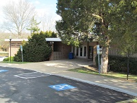 La Plata Branch Building entrance