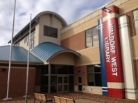 Waldorf West Branch entrance