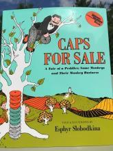 Caps for Sale Book Jacket