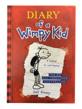 Diary of a Wimpy Kid Book Jacket
