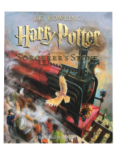 Harrry Potter and the Sorcerer's Stone Book Jacket