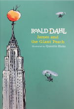 James and the Giant Peach Book Jacket
