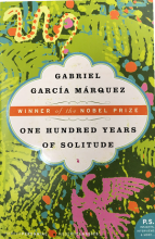 One Hundred Years of Solitude Book Jacket