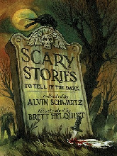 Scary Stories to Tell in the Dark Book Jacket